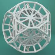 Геометрическая форма 103 3d model