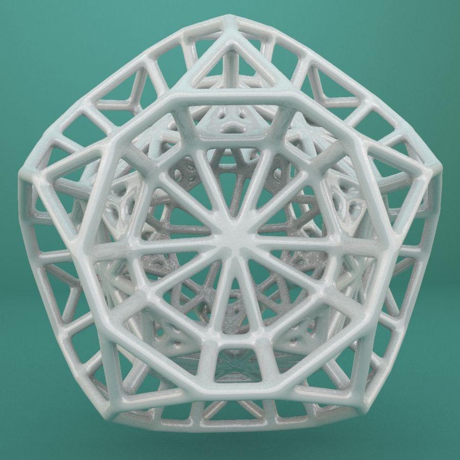 Geometrik Şekil 103 royalty-free 3d model - Preview no. 3