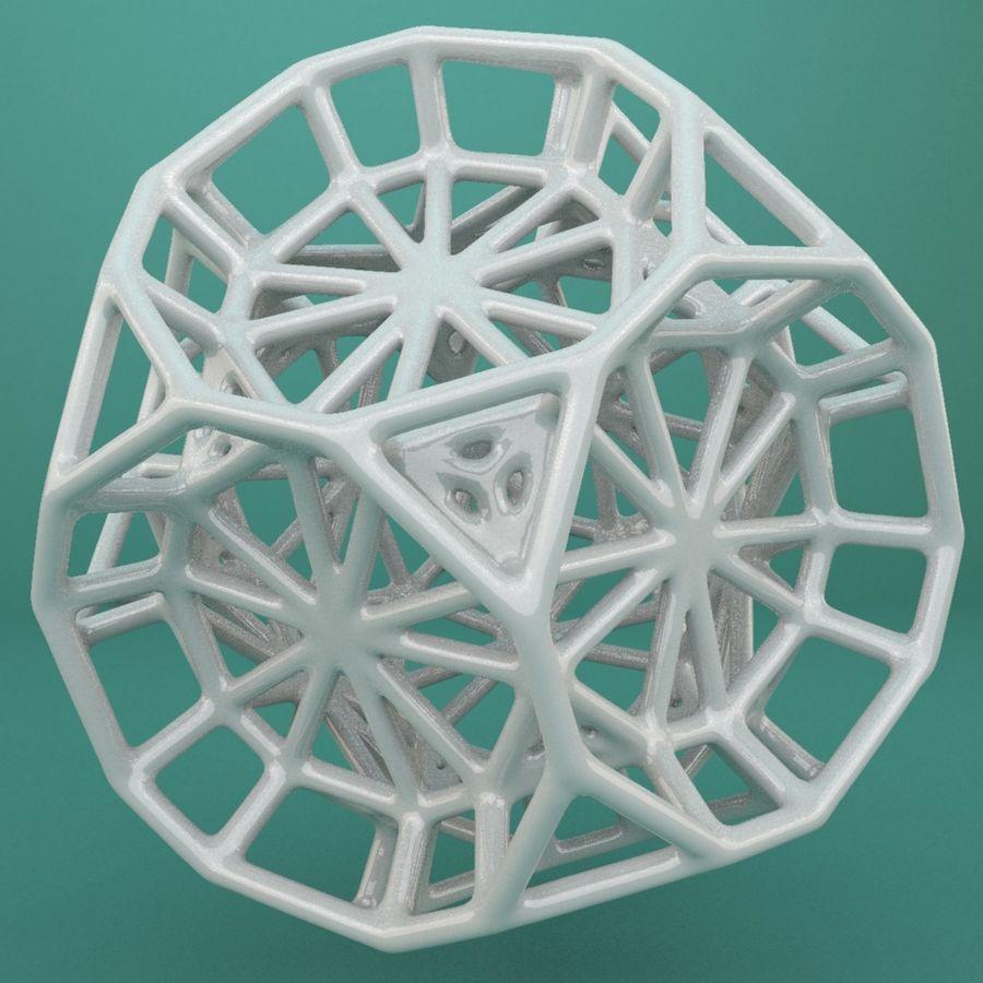 Geometrik Şekil 103 royalty-free 3d model - Preview no. 4