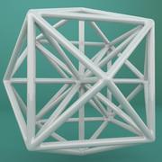Geometric Shape 107 3d model
