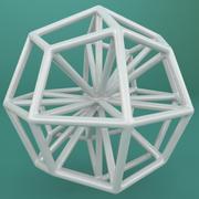 Geometrische vorm 111 3d model