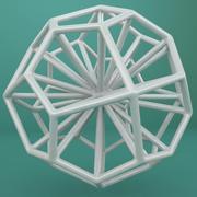 Geometric Shape 114 3d model
