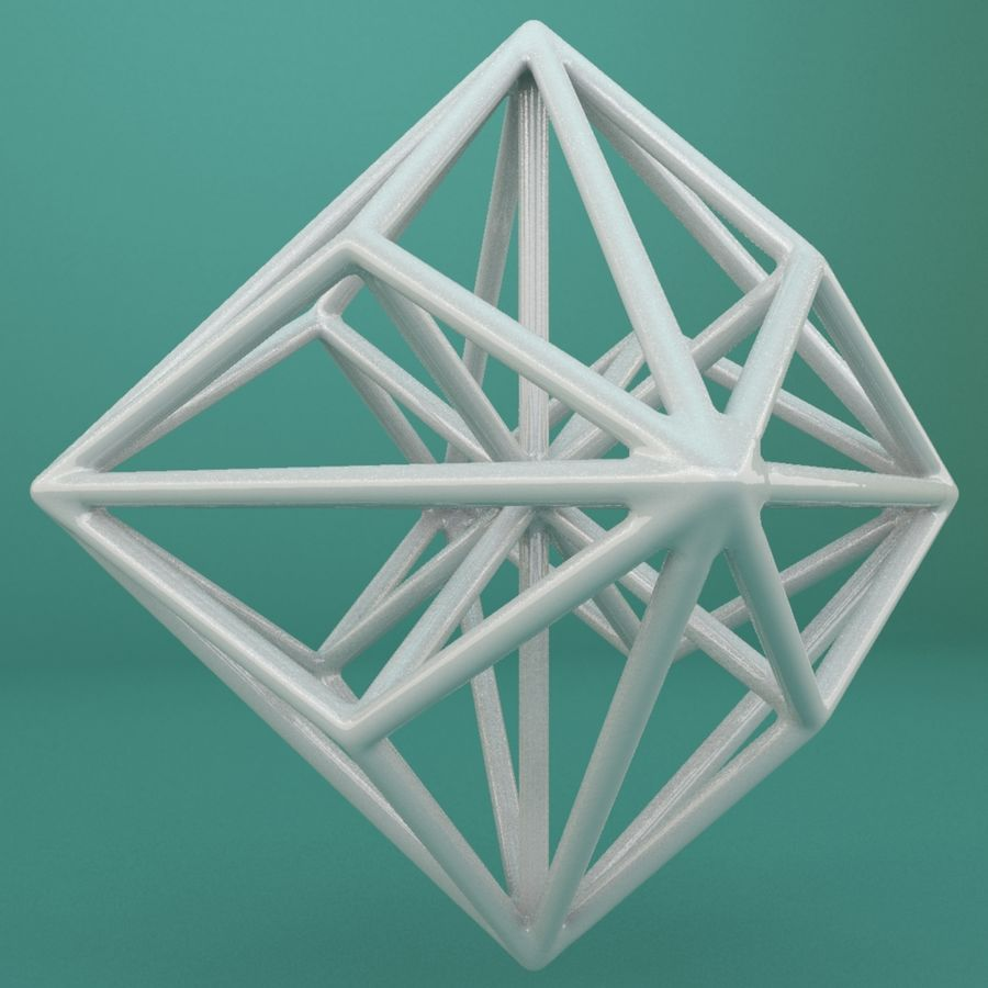 Geometric Shape 119 royalty-free 3d model - Preview no. 1