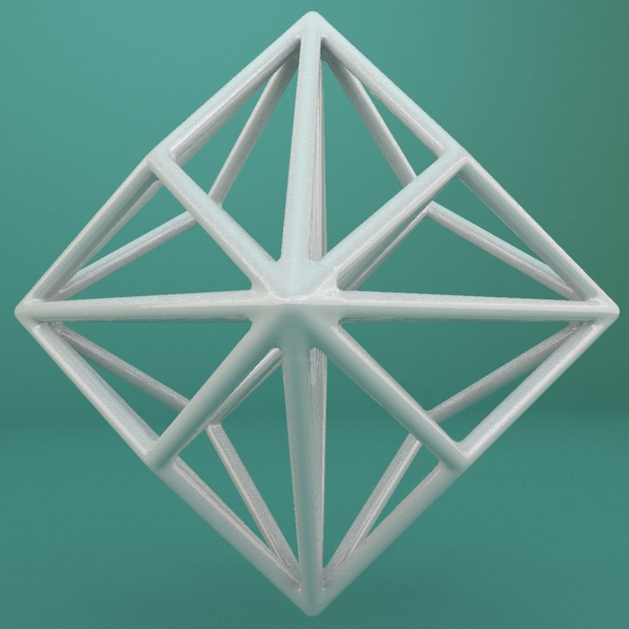 Geometric Shape 119 royalty-free 3d model - Preview no. 2