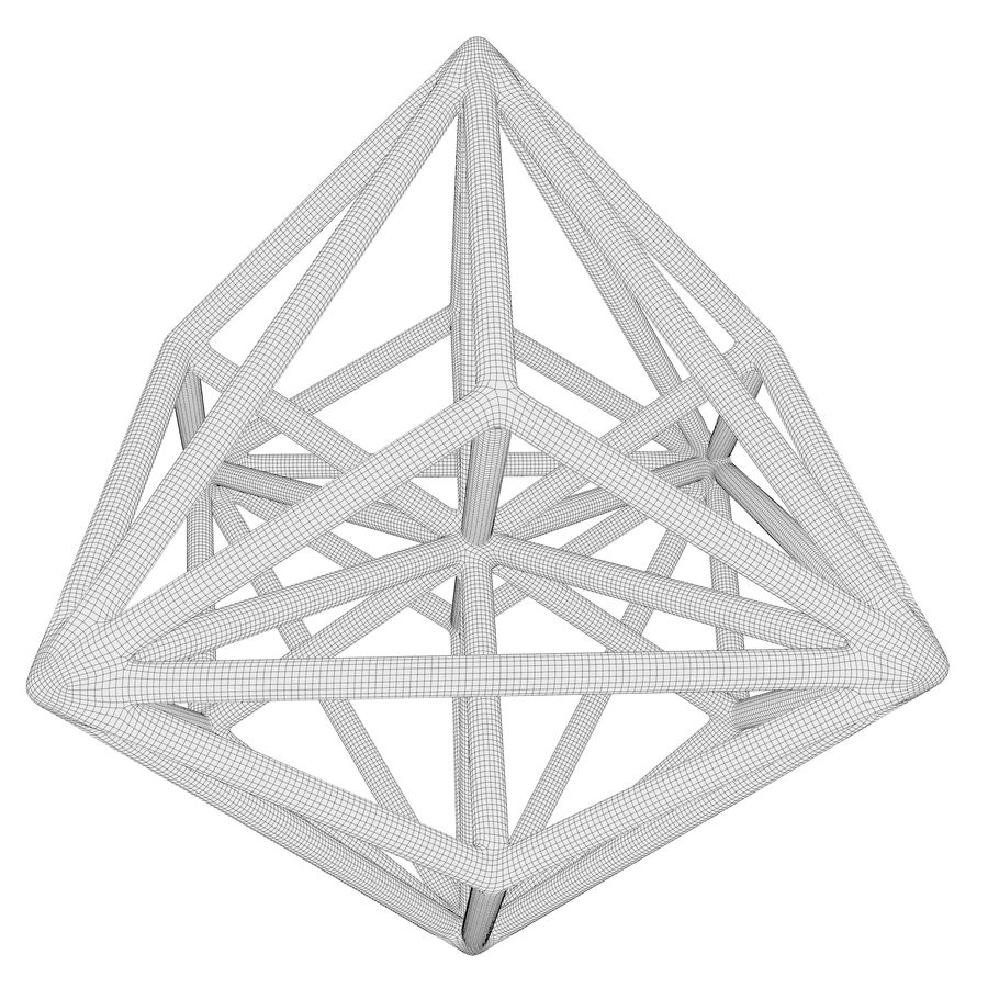 Geometric Shape 119 royalty-free 3d model - Preview no. 7