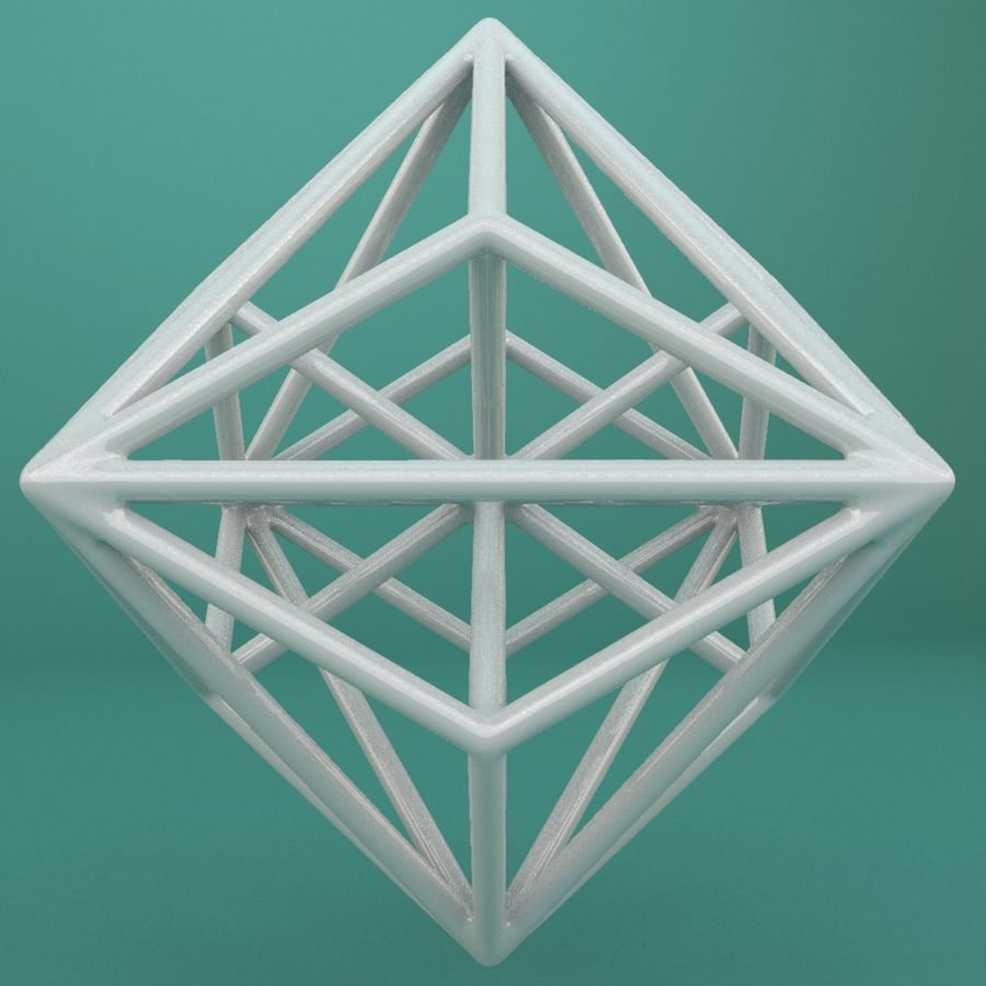Geometric Shape 119 royalty-free 3d model - Preview no. 3