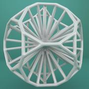 Forma geometrica 120 3d model