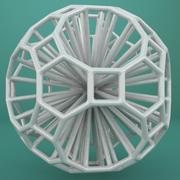 Geometrik Şekil 121 3d model