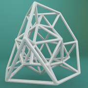 Geometric Shape 122 3d model