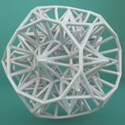 Geometric Shape 124 3d model