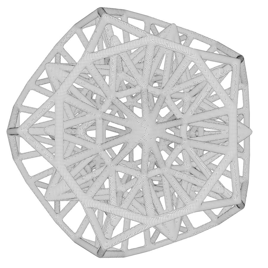 Geometric Shape 124 royalty-free 3d model - Preview no. 7