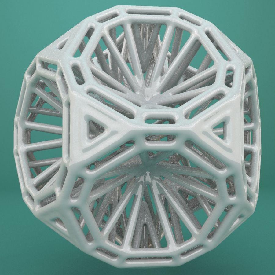 Geometric Shape 125 royalty-free 3d model - Preview no. 1
