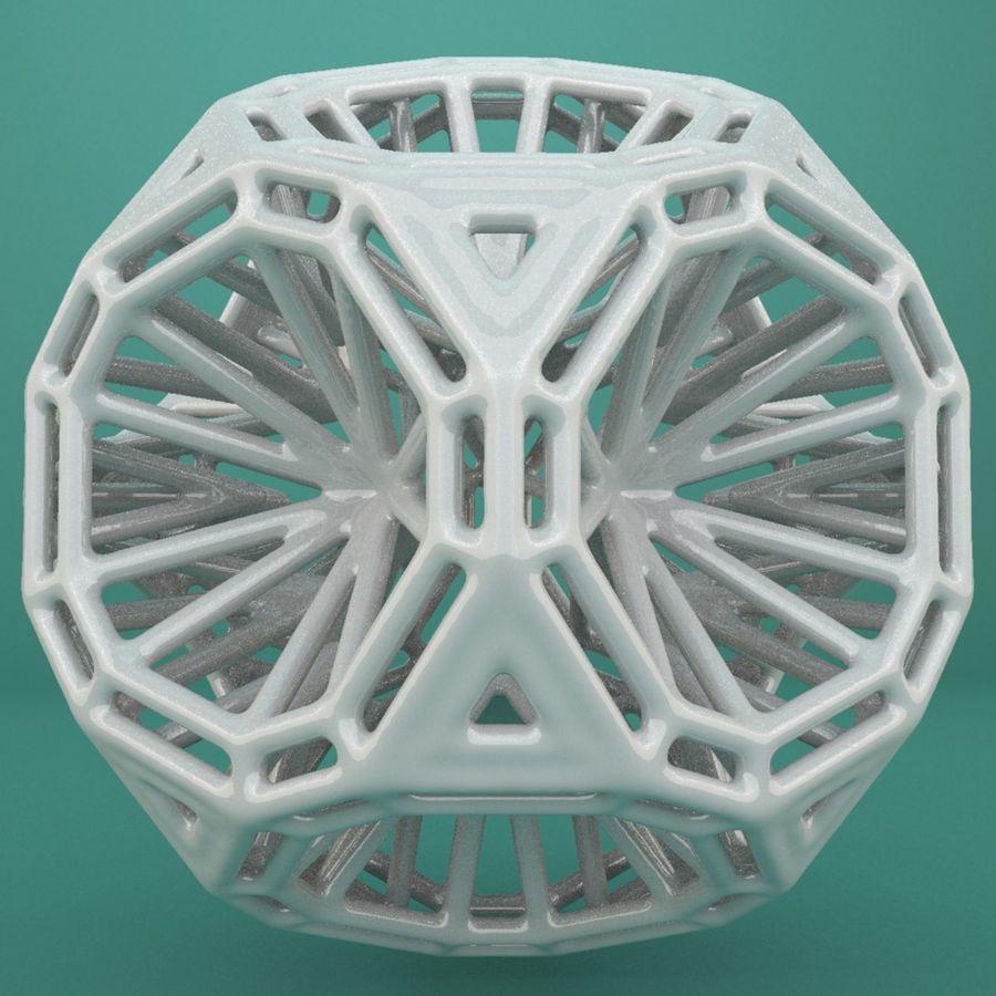 Geometric Shape 125 royalty-free 3d model - Preview no. 4