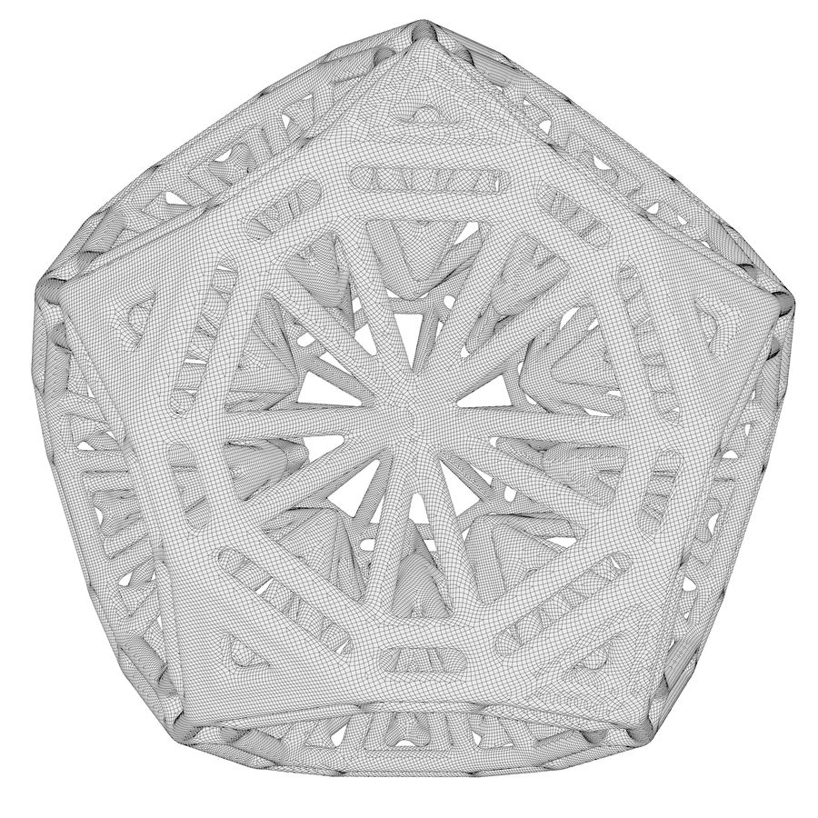 Geometric Shape 125 royalty-free 3d model - Preview no. 7