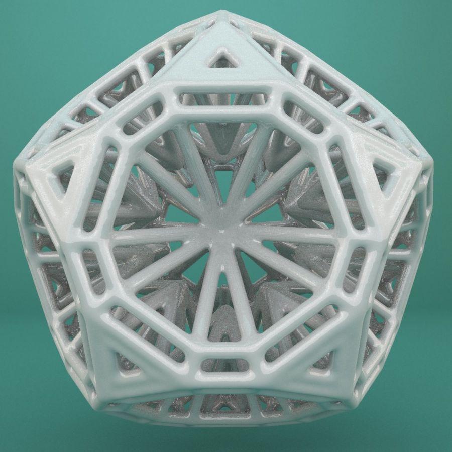 Geometric Shape 125 royalty-free 3d model - Preview no. 2