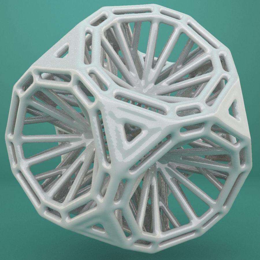 Geometric Shape 125 royalty-free 3d model - Preview no. 3