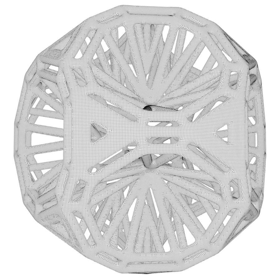 Geometric Shape 125 royalty-free 3d model - Preview no. 6
