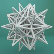 Geometric Shape 129 3d model