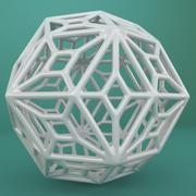 Geometric Shape 143 3d model
