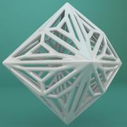 Geometric Shape 147 3d model