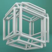 Geometric Shape 155 3d model