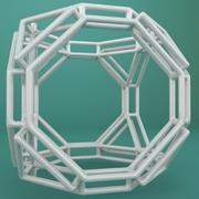 Geometric Shape 159 3d model