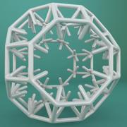 기하학적 모양 170 3d model