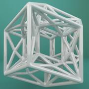 Geometric Shape 180 3d model