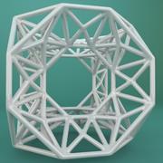 Geometric Shape 184 3d model