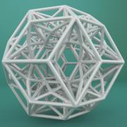 Geometric Shape 190 3d model
