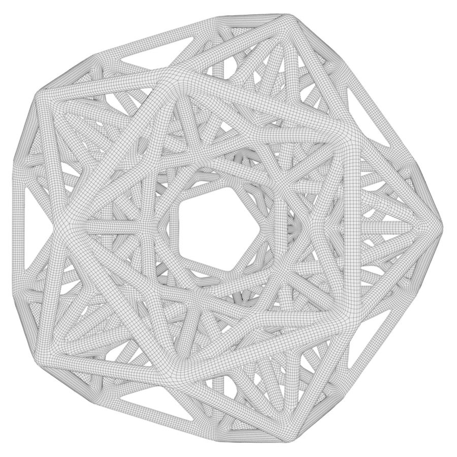 Geometric Shape 192 royalty-free 3d model - Preview no. 7
