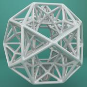 Kształt geometryczny 192 3d model