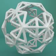 Geometric Shape 200 3d model