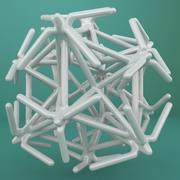 Geometric Shape 216 3d model