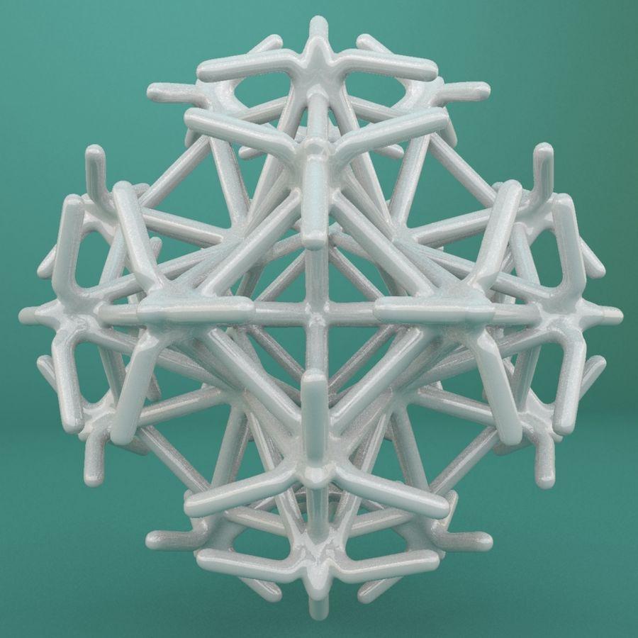 Geometric Shape 217 royalty-free 3d model - Preview no. 3