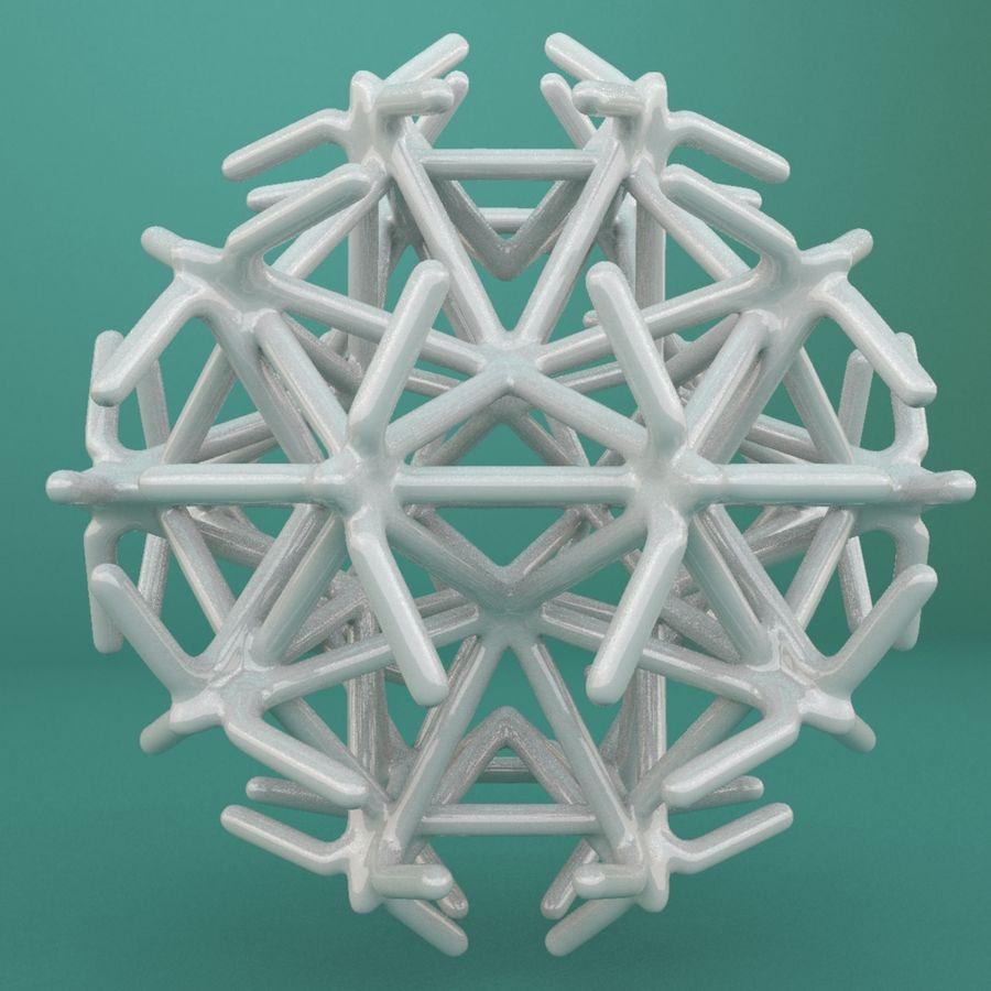 Geometric Shape 217 royalty-free 3d model - Preview no. 2