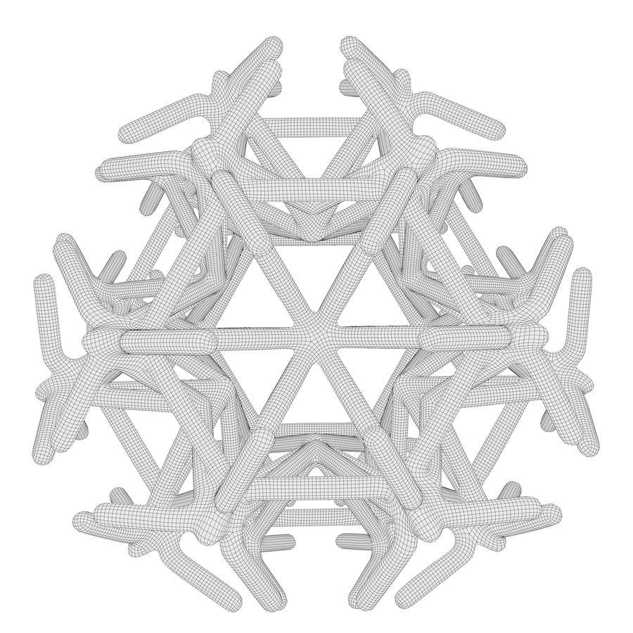 Geometric Shape 217 royalty-free 3d model - Preview no. 7