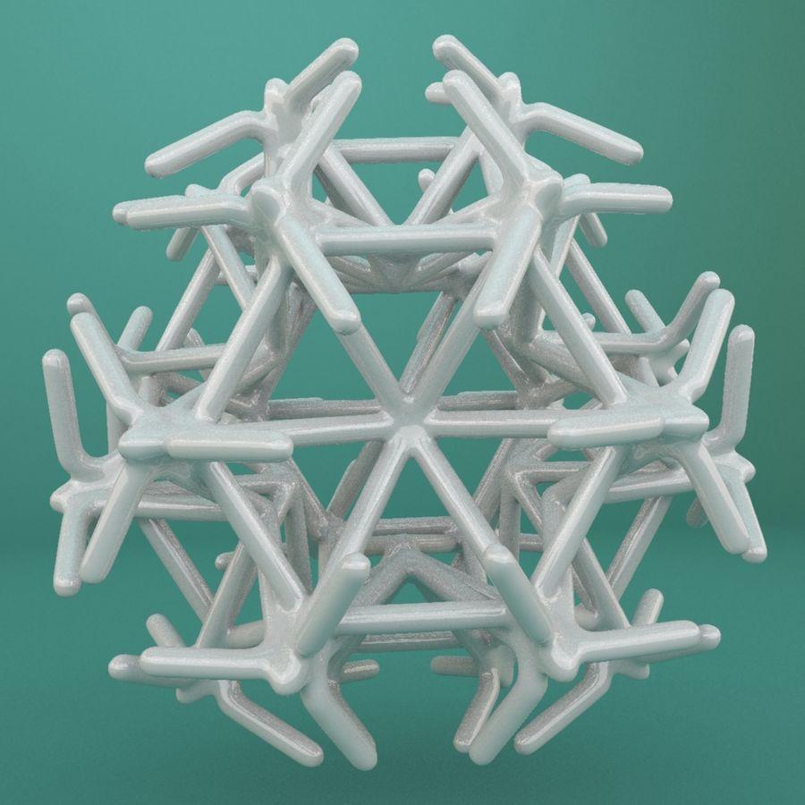 Geometric Shape 217 royalty-free 3d model - Preview no. 4