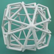Geometric Shape 230 3d model