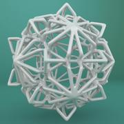 Geometric Shape 234 3d model