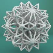 Geometrik Şekil 238 3d model