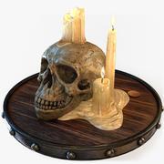Cráneo de vela modelo 3d