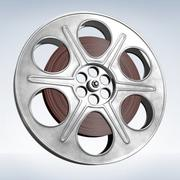 Film Reel Roll 3d model