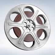 Film Reel Roll 3d model