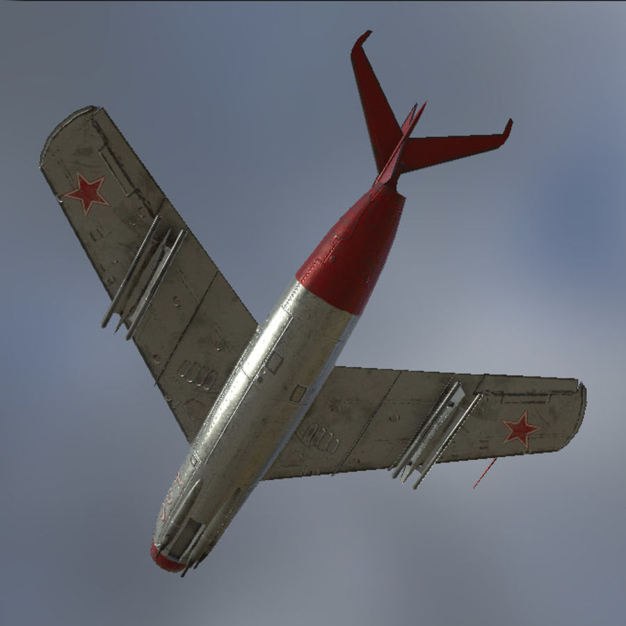 MIG_15 royalty-free 3d model - Preview no. 5