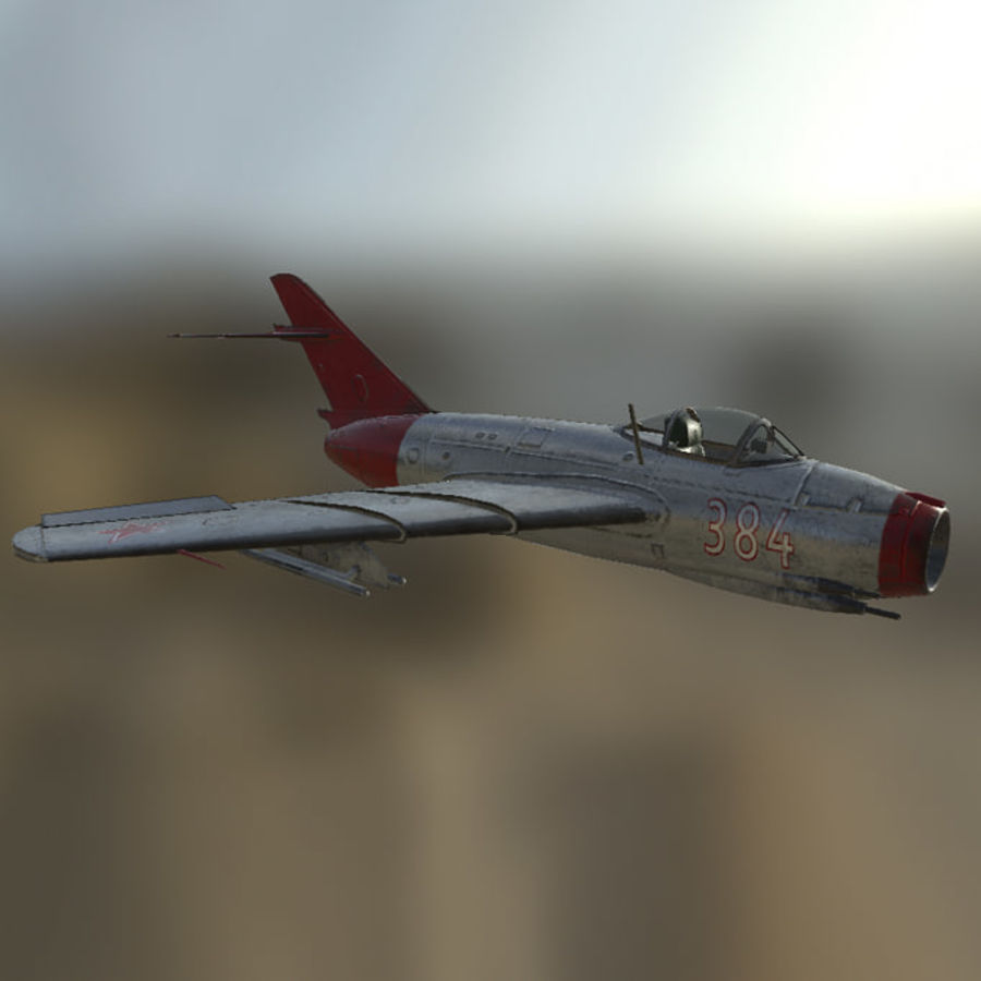 MIG_15 royalty-free 3d model - Preview no. 1