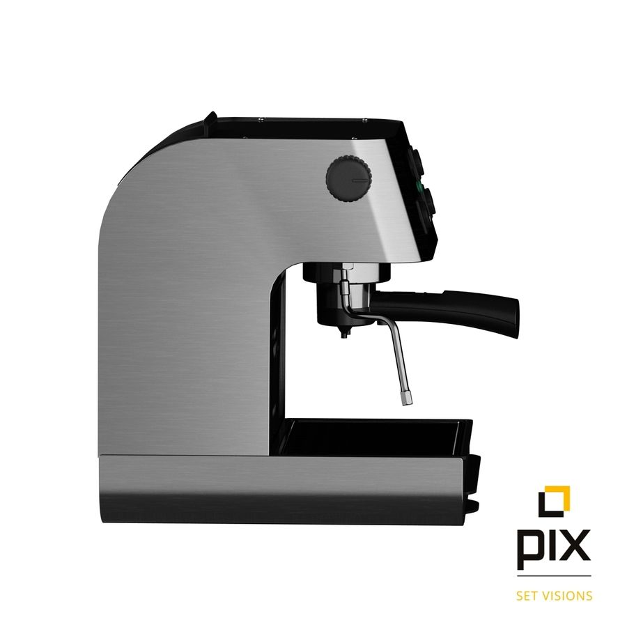 Starbucks Barista Coffee Machine royalty-free 3d model - Preview no. 5
