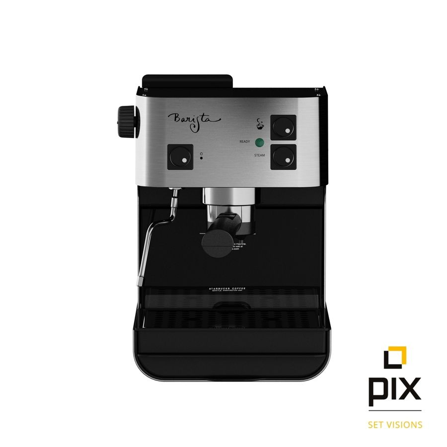 Starbucks Barista Coffee Machine royalty-free 3d model - Preview no. 1