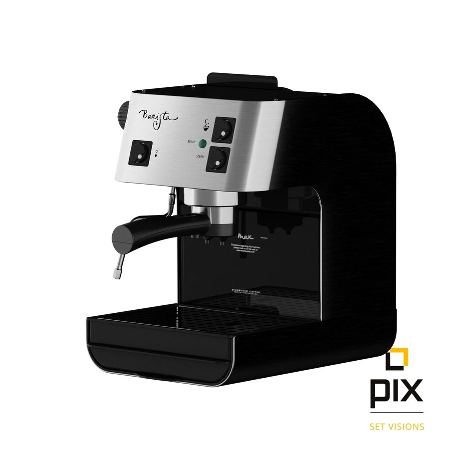 Starbucks Barista Coffee Machine royalty-free 3d model - Preview no. 2