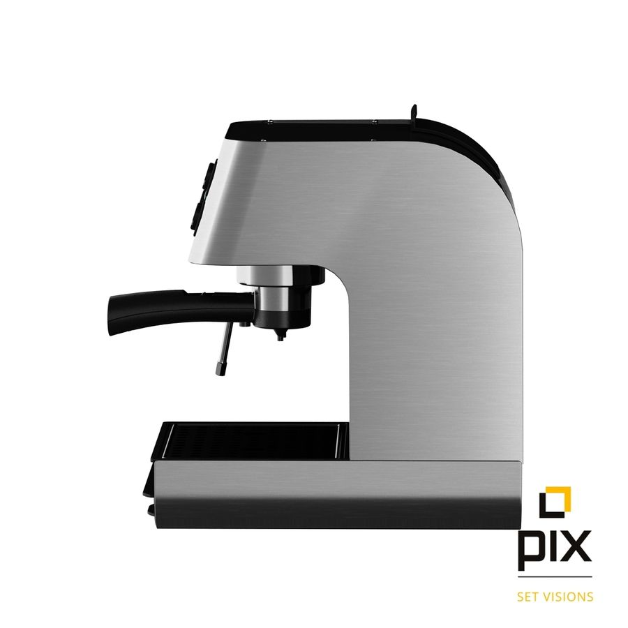 Starbucks Barista Coffee Machine royalty-free 3d model - Preview no. 3